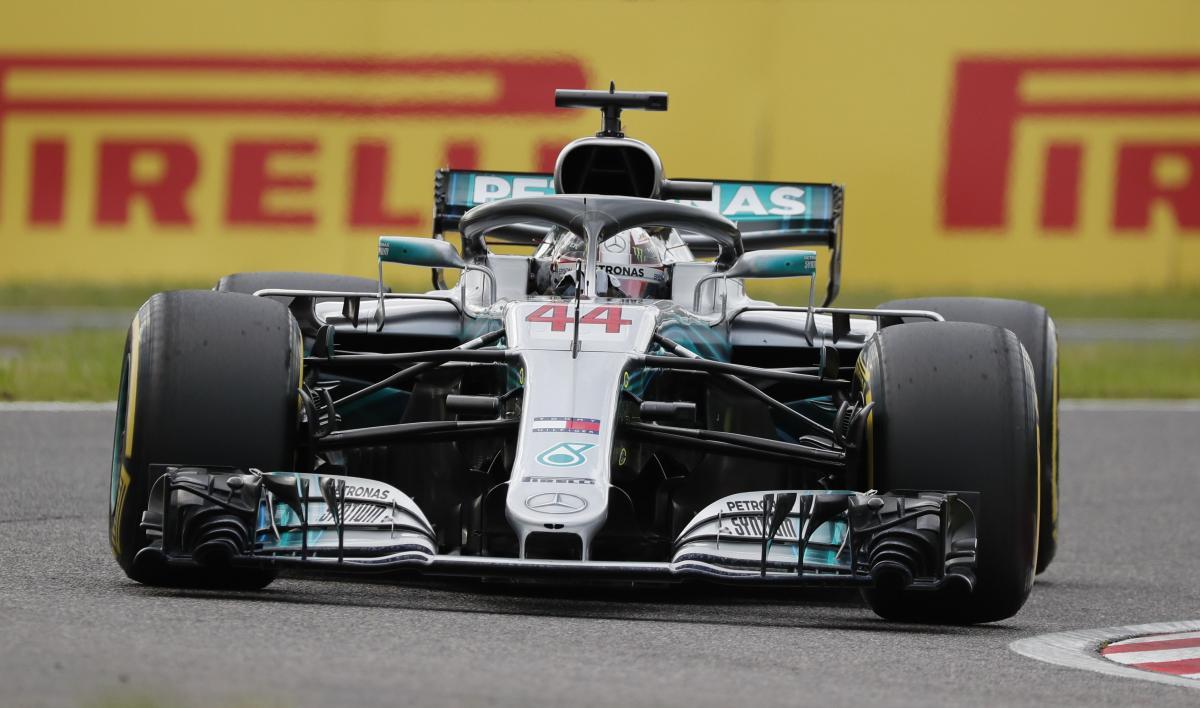Льюис Хэмилто выиграл квалификацию Гран-при Японии / Reuters