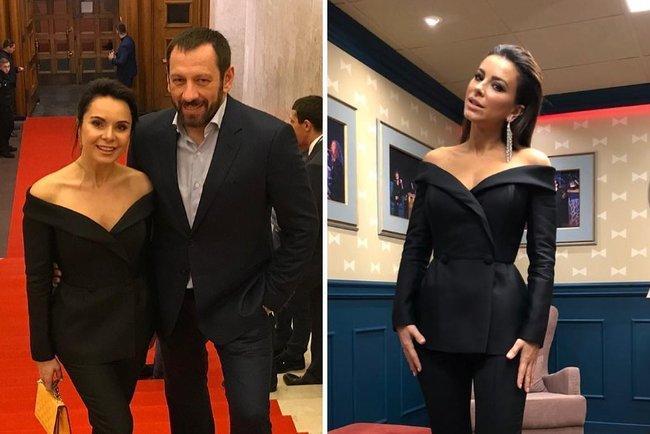 Лілія Подкопаєва та Ані Лорак в однакових костюмах / фото Instagram Лорак і Подкопаєвої
