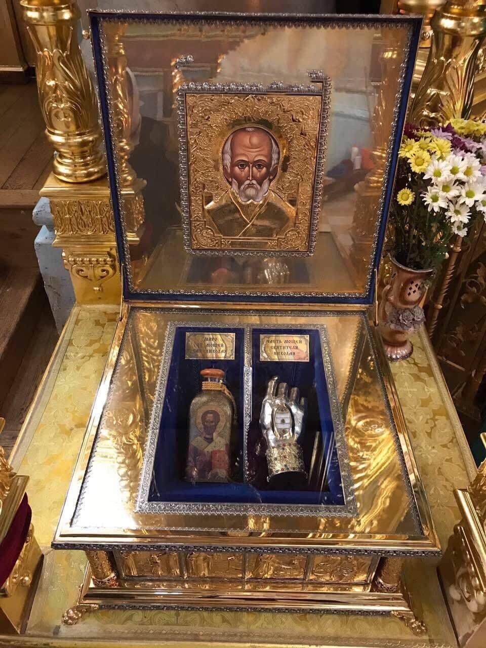 В Киеве пребывают мощи святителя Николая Чудотворца / Центр информации УПЦ