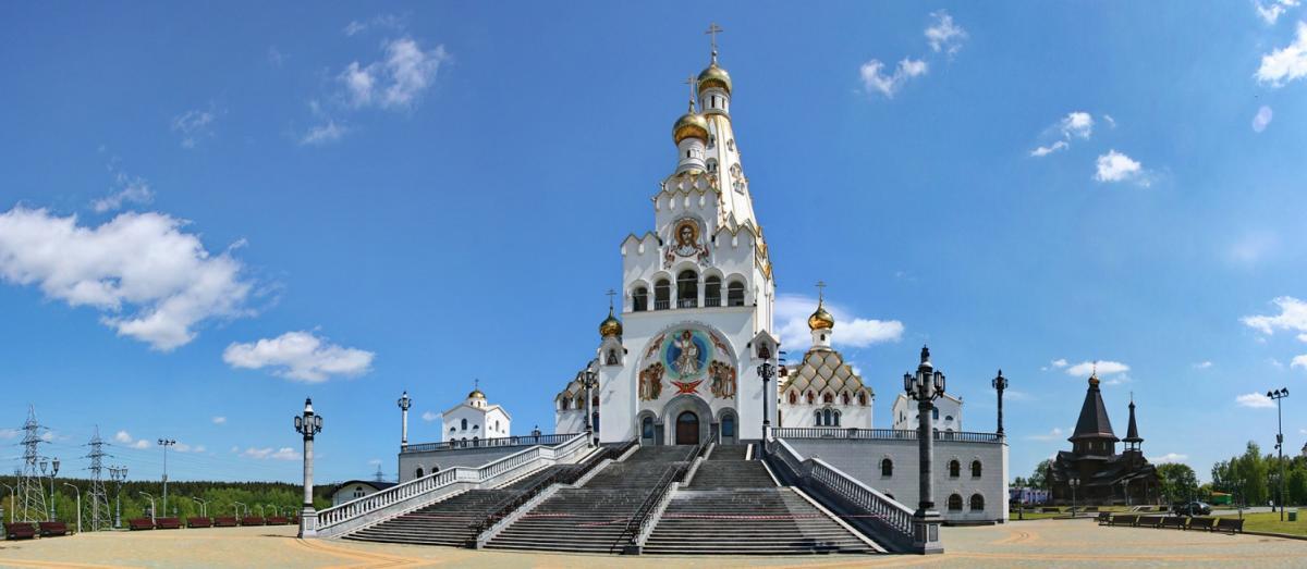Храм-пам'ятник на честь Всіх святих у місті Мінську / places.by