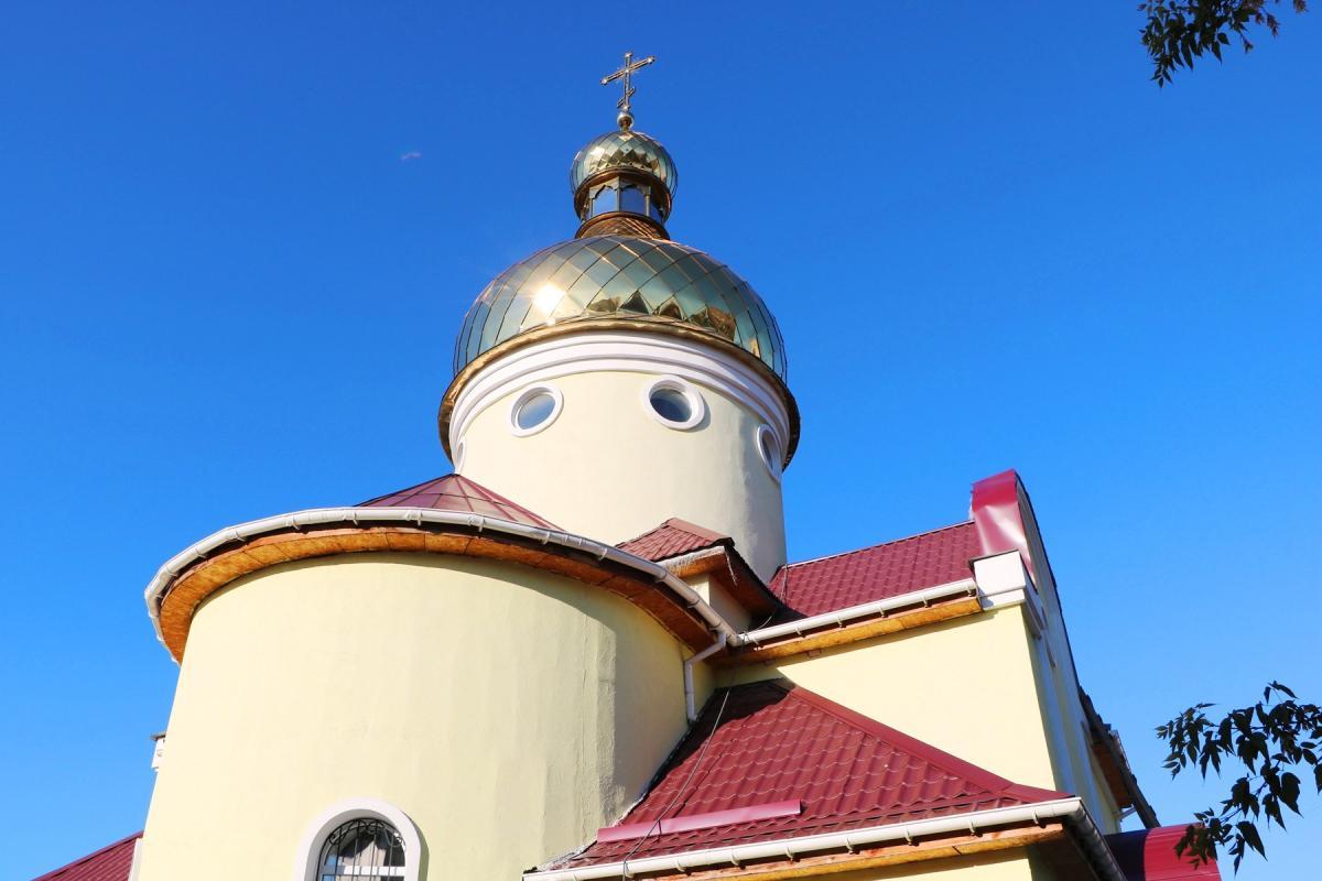 У Дніпрі освятили новий православний храм / eparhia.dp.ua