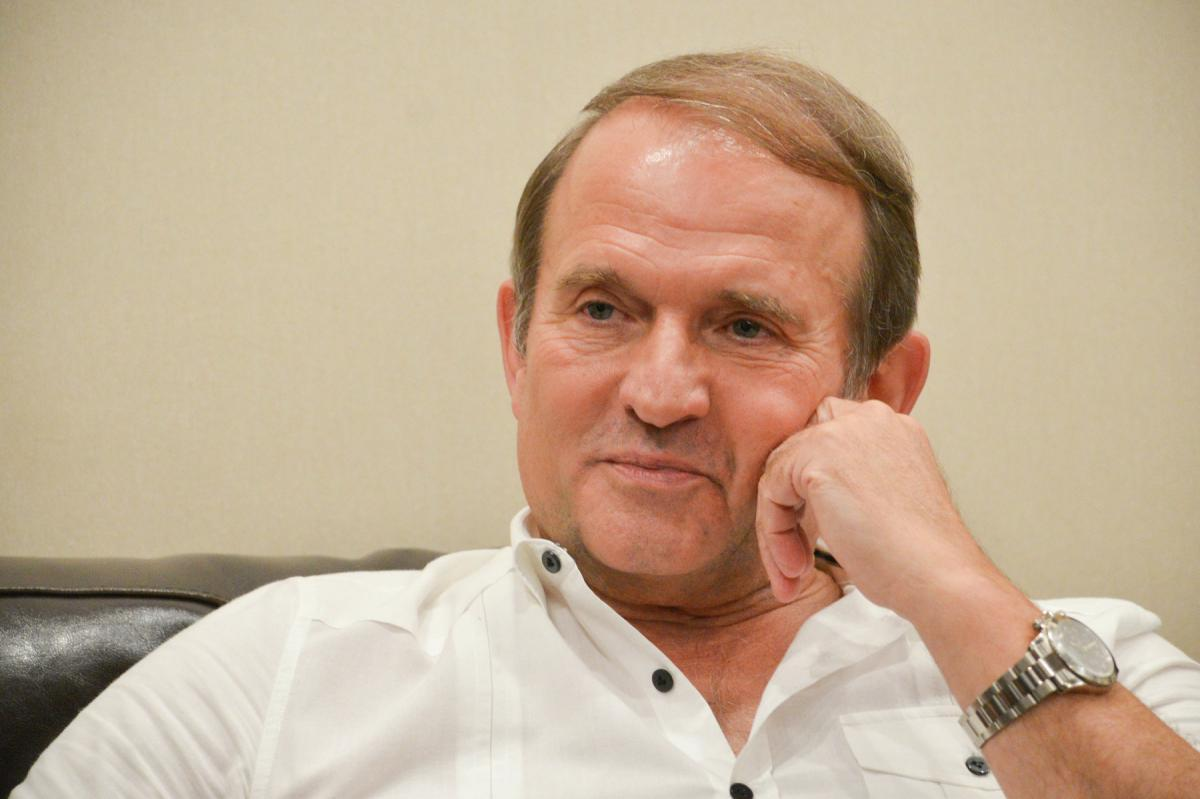 Medvedchuk's press service says there are no plans to buy Inter / Photo from vybor.ua