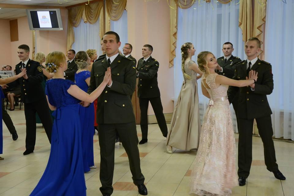 У Національній академії сухопутних військ у Львові відбувся Благодійний бал захисників / фото Facebook-сторінка Павла Ткачука