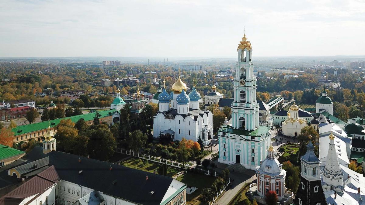 Троице-Сергиева лавра / patriarchia.ru