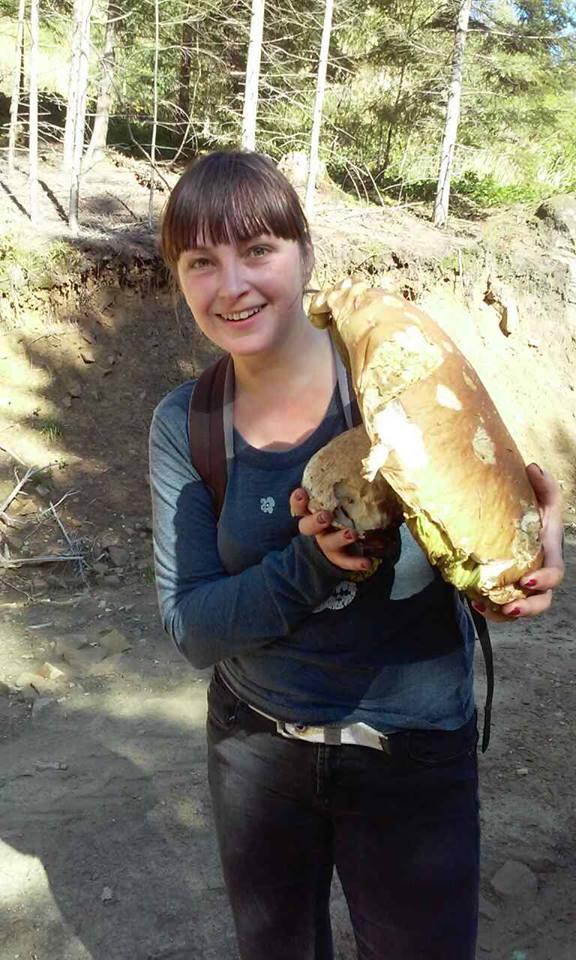 Гриб - велетень / фото facebook.com/groups/Hryby.Ukrayiny