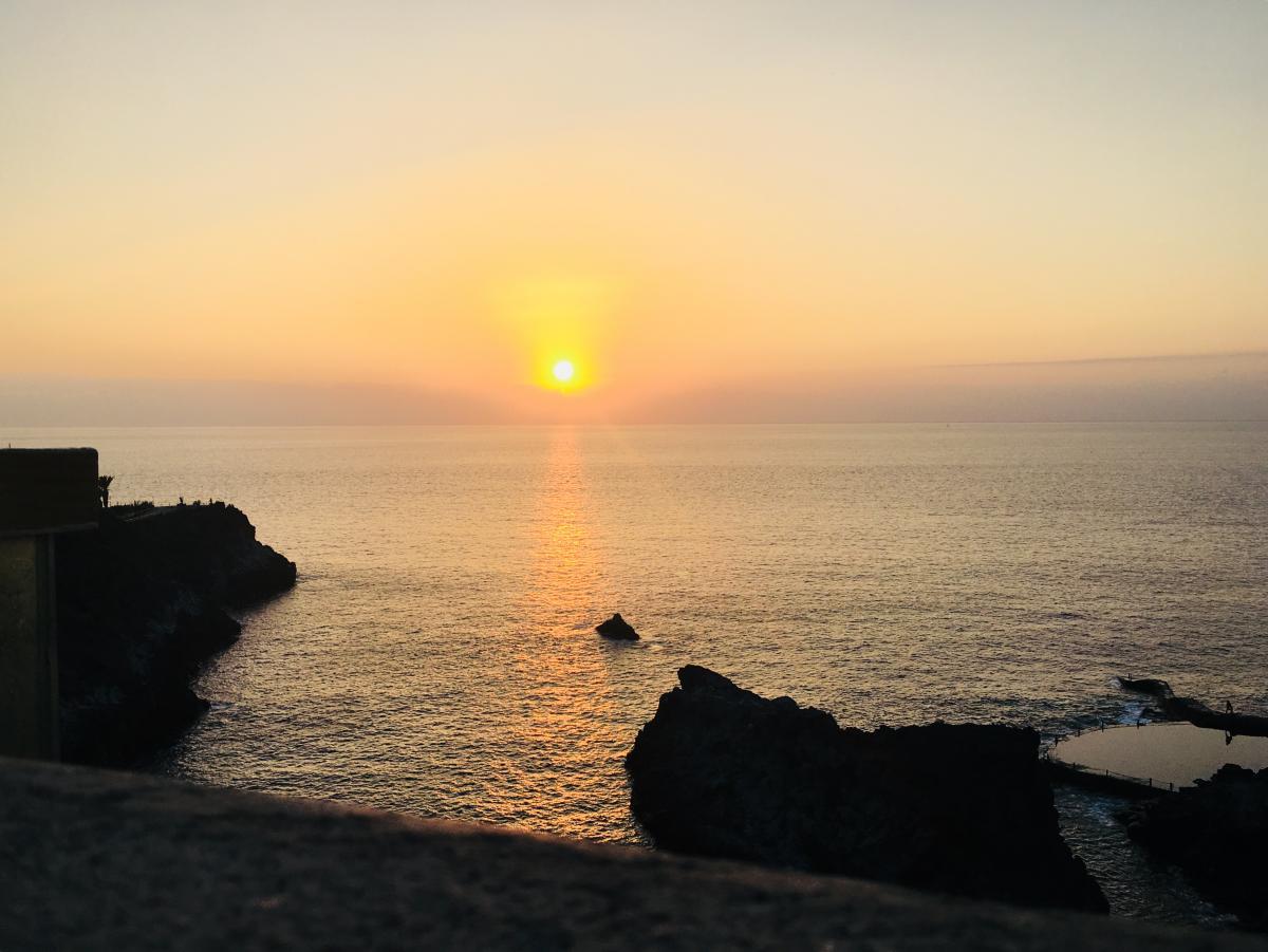 Закат на острове Тенерифе / Фото Вероника Кордон