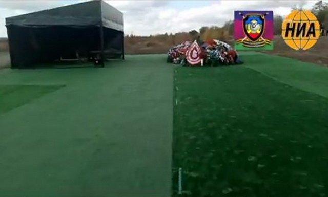 В сети высмеяли сооружение на могиле Захарченко / фото twitter.com/natohawks
