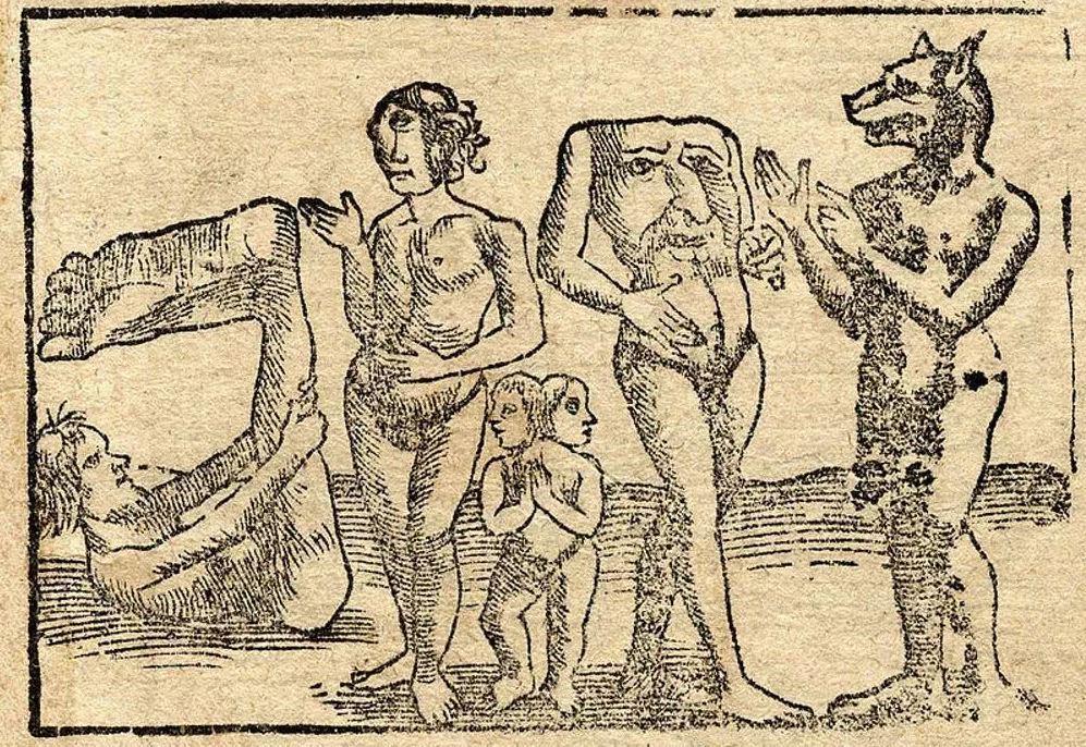 Відкриття Америки не розвіяло віру європейців у монстрів / wikipedia.org