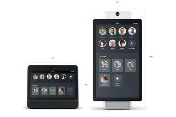 Крім динаміків у колонки є екран: Portal – з діагоналлю 10,1 дюйма з HD-роздільною здатністю \ Facebook