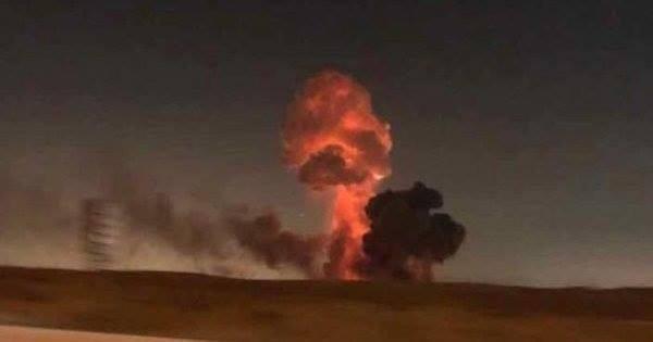 Через вибухи на складі боєприпасів поблизу Ічні перекрито кілька трас/ фото facebook.com/MNS.GOV.UA