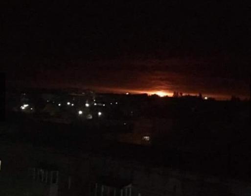 9 октября на складах боеприпасов возле Ични начались взрывы / фото cheline.com.ua
