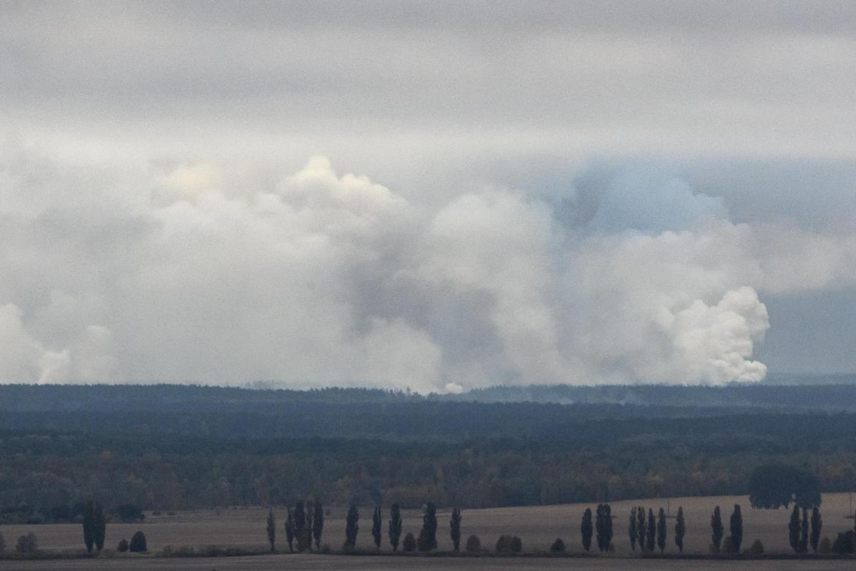 Взрывы возле Ични9 октября / REUTERS