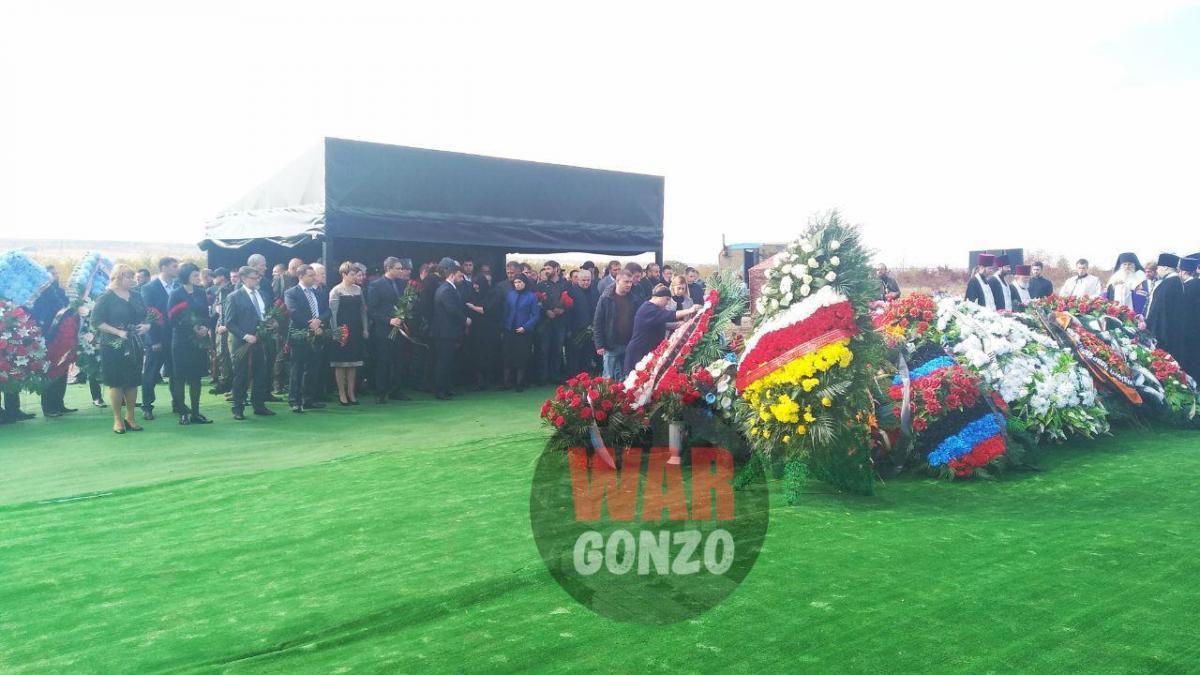 До могили Захарченкаприйшла низка терористів / фото t.me/wargonzo