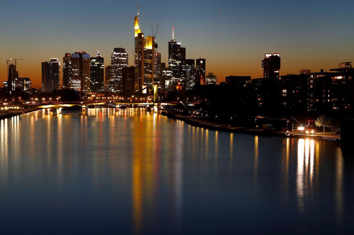 Франкфурт-на-Майне является центром торговли в Германии / Фото REUTERS