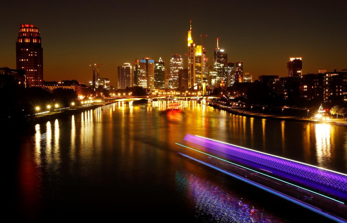 Знаменитые небоскребы Франкфурта-на-Майне / Фото REUTERS