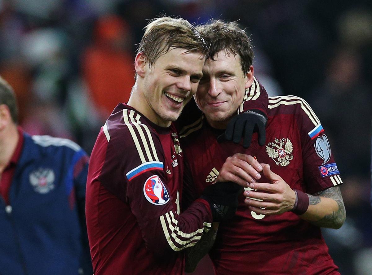 Футболісти збірної Росії Кокорін і Мамаєв здійснили серію нападів на людей у центрі Москви / Р-Спорт