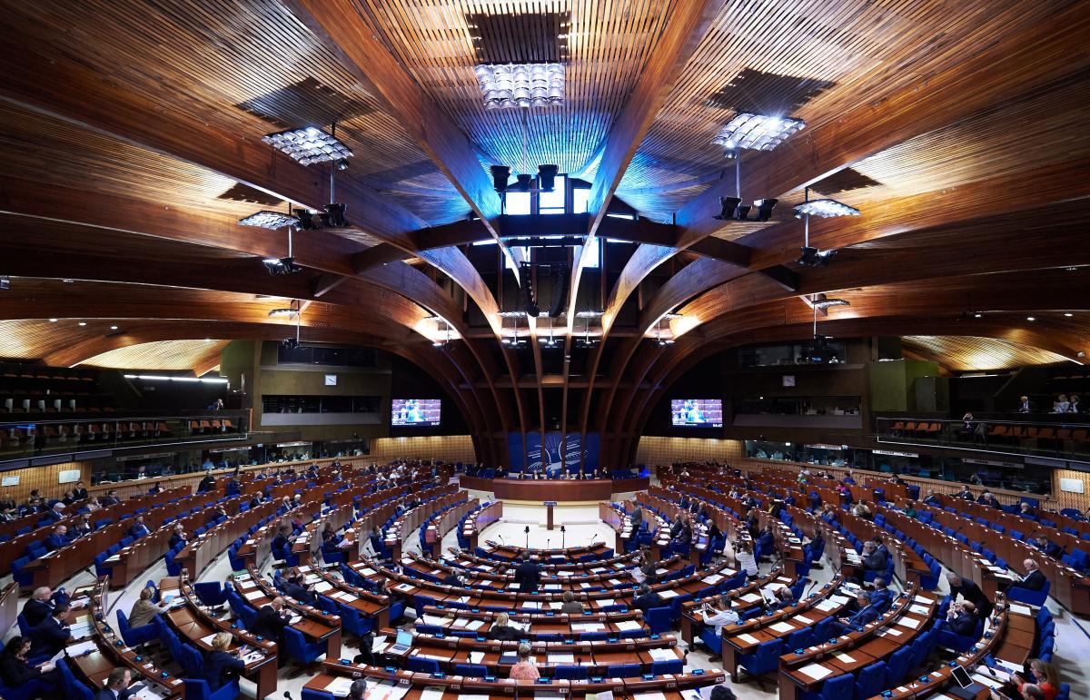 На квітневій сесії в 2014 році ПАРЄ позбавила російську делегацію права голосу / фото Council of Europe