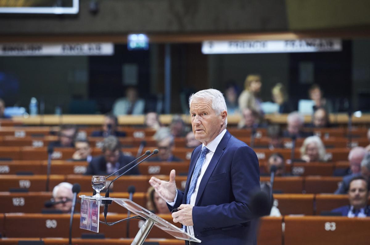 Ягланд пытается вернуть российскую делегацию в ПАСЕ / фото ©Council of Europe