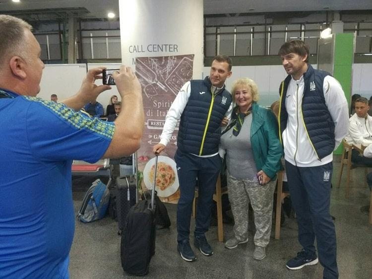 Збірна України прибула до Генуї / ФФУ