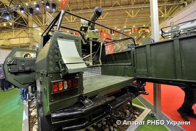 В столице открылась крупнейшая выставка оружия и военной техники / Аппарат СНБО Украины