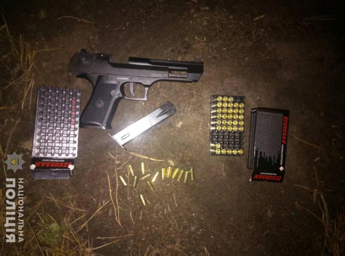 У Харкові затримано двох неповнолітніх, які влаштували стрілянину в лісопосадці /hk.npu.gov.ua