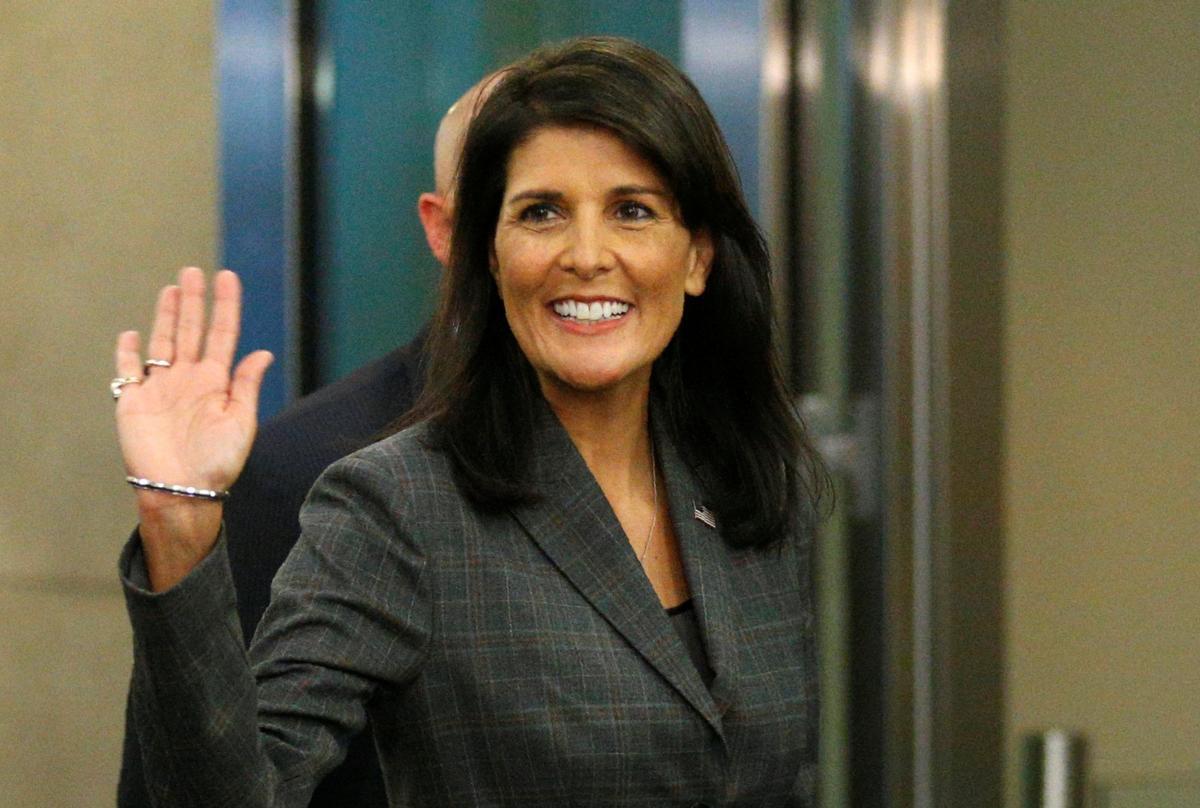Трамп подписал отставку постпреда США при ООН Никки Хейли— Версия