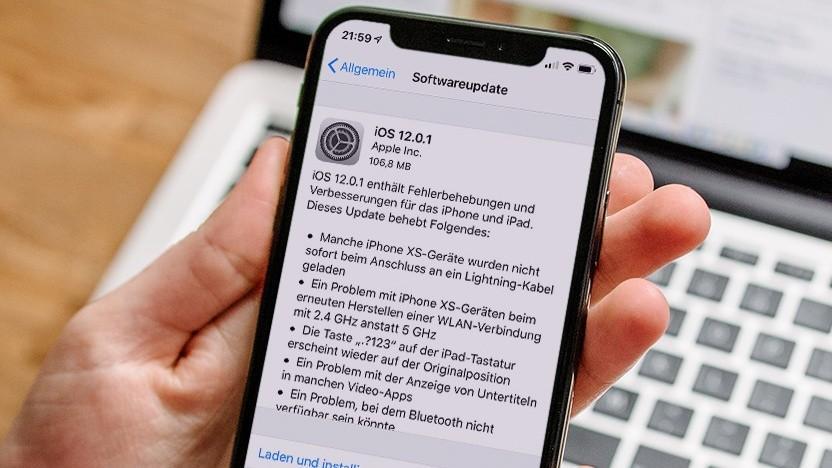 Apple випустила оновлення iOS 12.0.1 / фото itc.ua