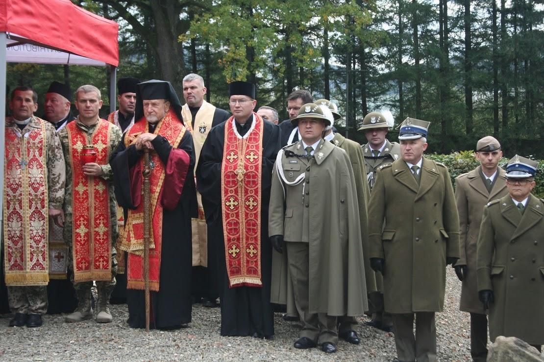 В Польше прошли поминальные мероприятия по погибшим в Карпатско-Дуклинской операции/ sokaleparchy.org.ua