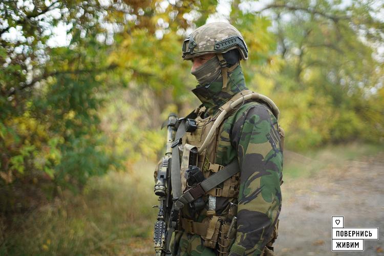 """Военные продвинулись на 1,2 км вперед / фонд """"Вернись живым"""""""