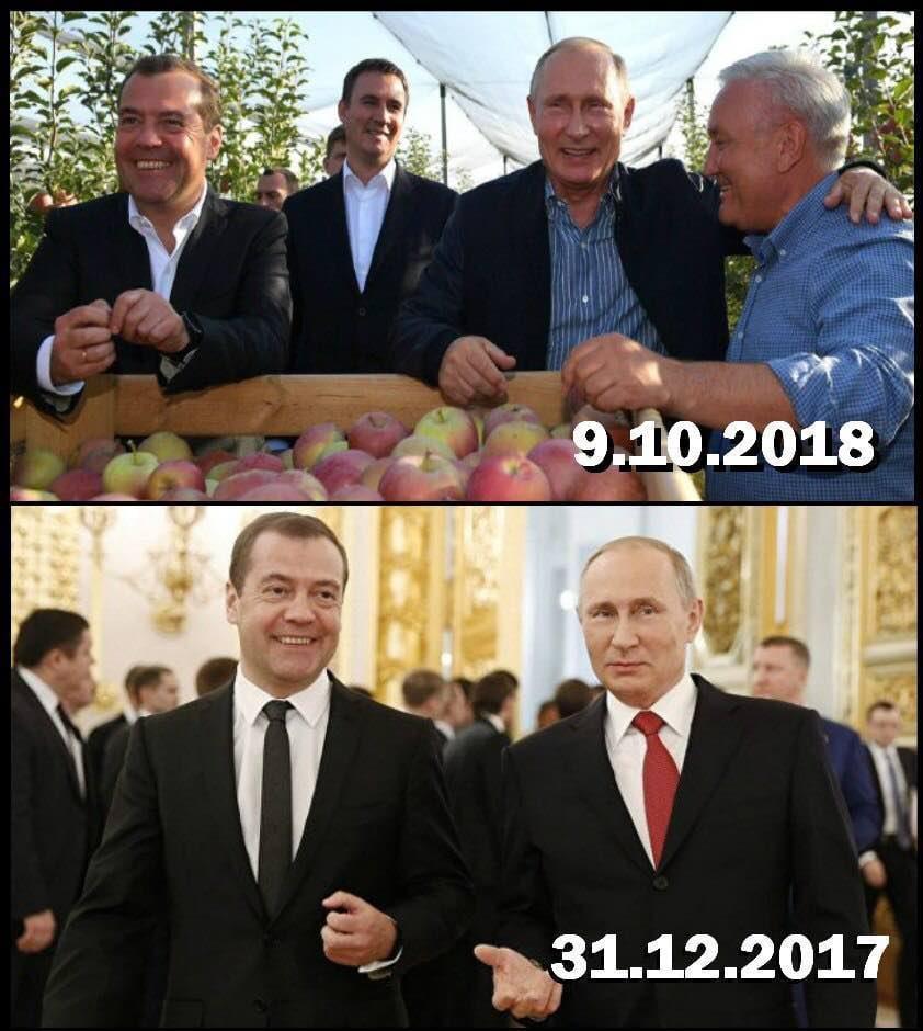 В офіційних джерелах зазначено, що зріст Путіна становить 170 см / Олексій Голобуцький Telegram-канал