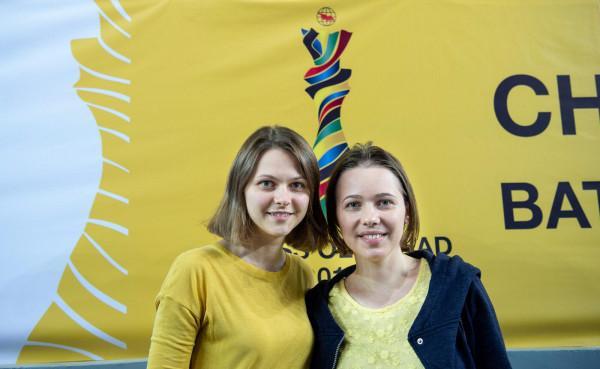 Анна и Мария Музычук / фото batumi2018.fide.com