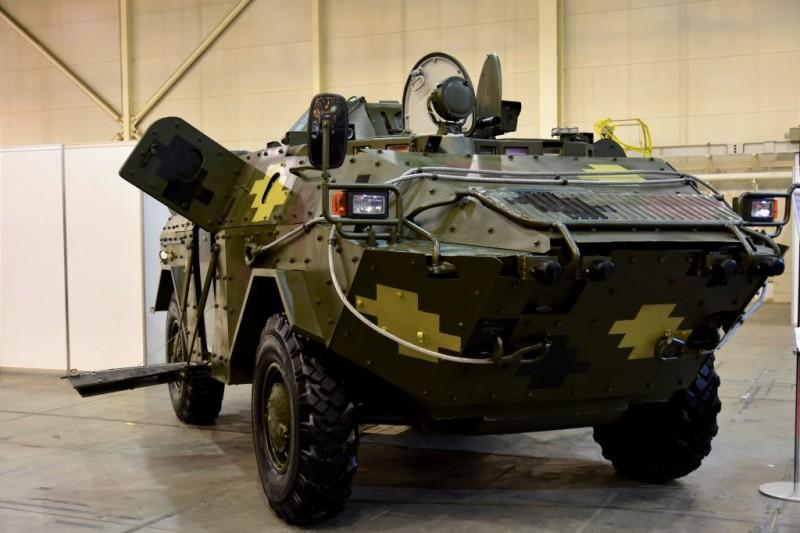 Бронемашина способнаразвивать по шоссе скорость до 100 км/ч / фото ukroboronprom.com.ua