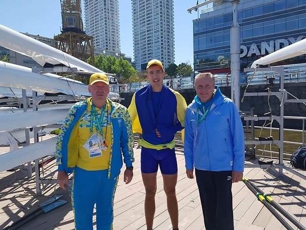 Тищенко став чемпіоном ЮОІ в академічному веслуванні / noc-ukr.org