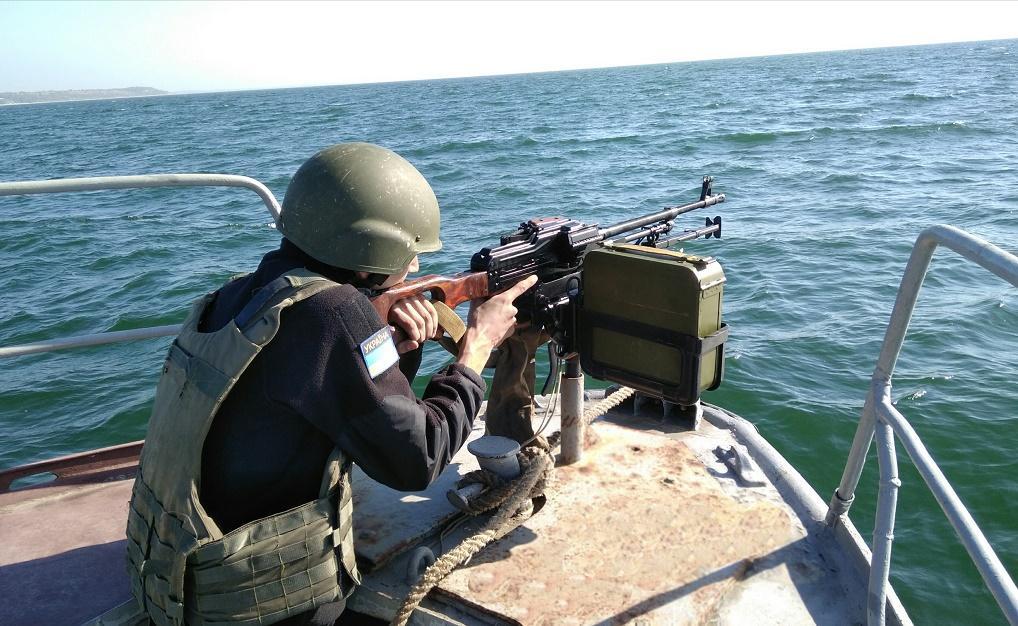 В случае необходимости Украина готова реагировать не только в Азовском море, но и на других направлениях / фото dpsu.gov.ua