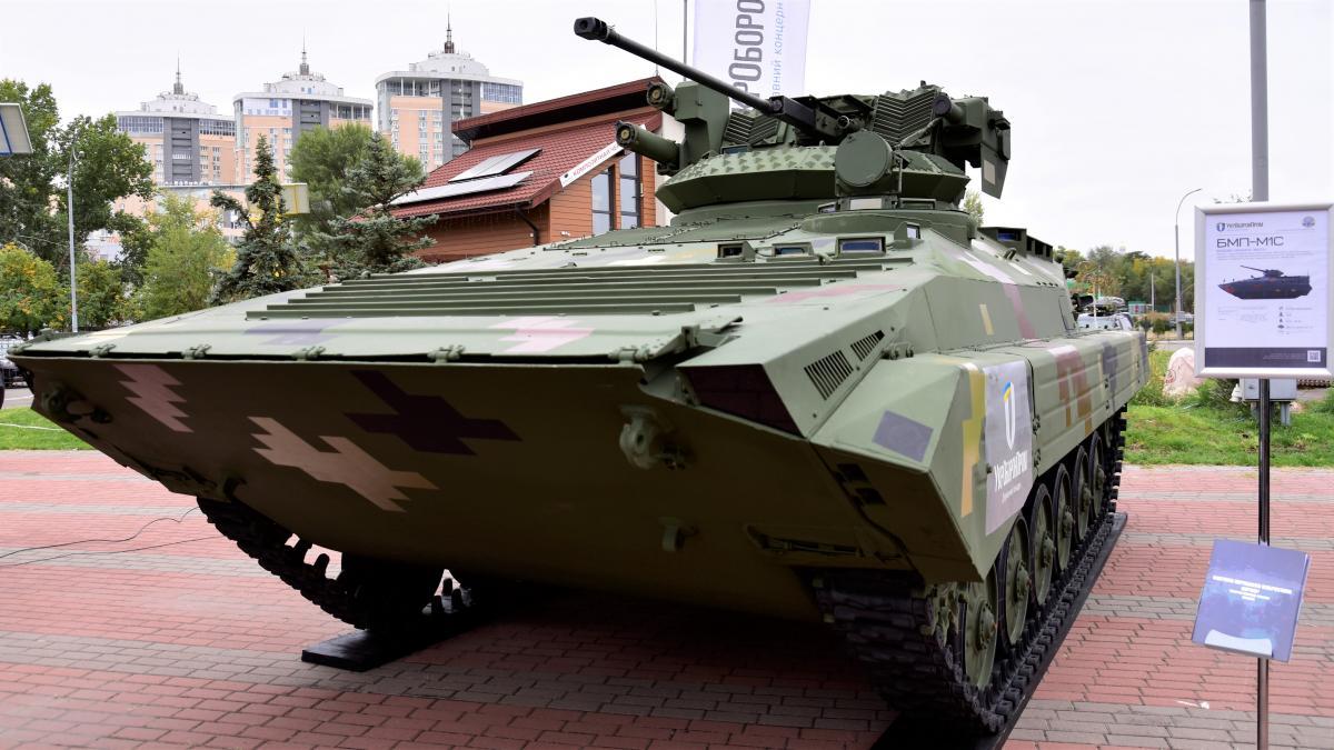 БМП-М1С может транспортировать до восьми военнослужащих / фото ukroboronprom.com.ua