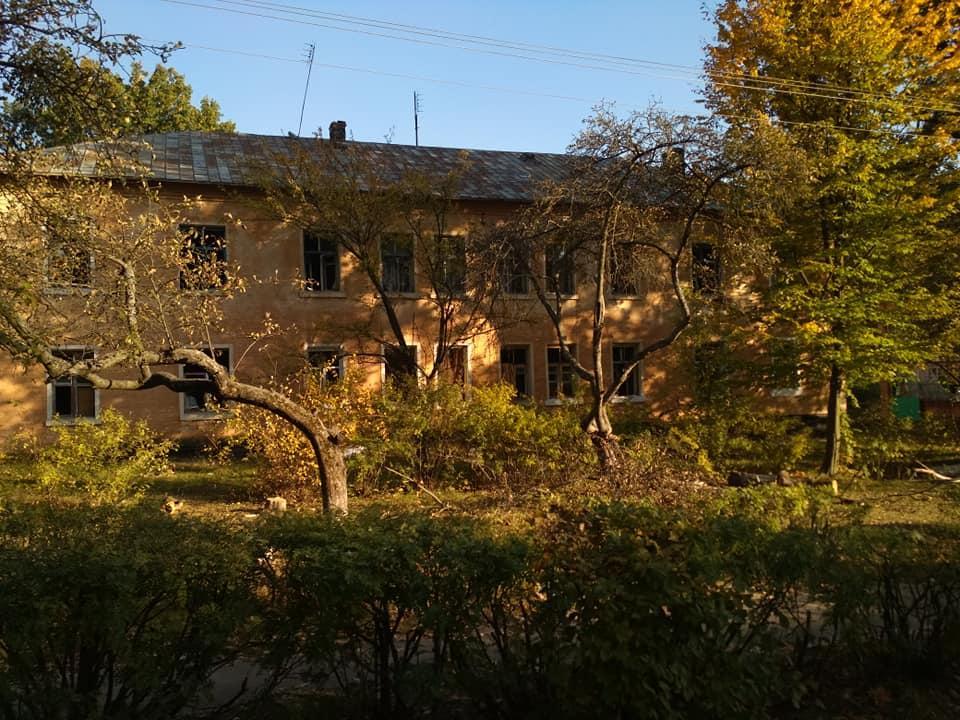 80 зданий в зоне ЧС вблизи Ичнипризнаны аварийными / фото фейсбук Славик Бабич