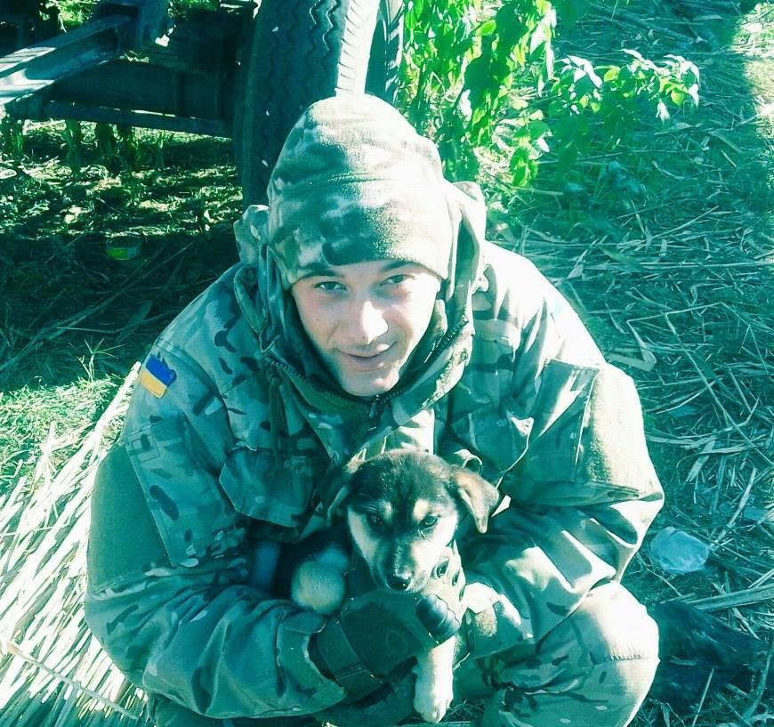 Роман Мегас загинув на Донбасі / фото facebook.com/backandalive