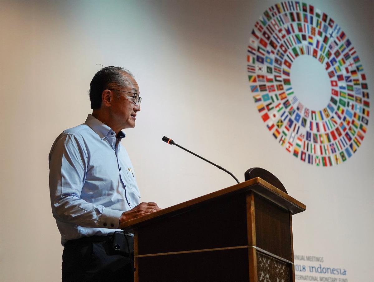 Голова Світового банку Джим Ен Кім / REUTERS