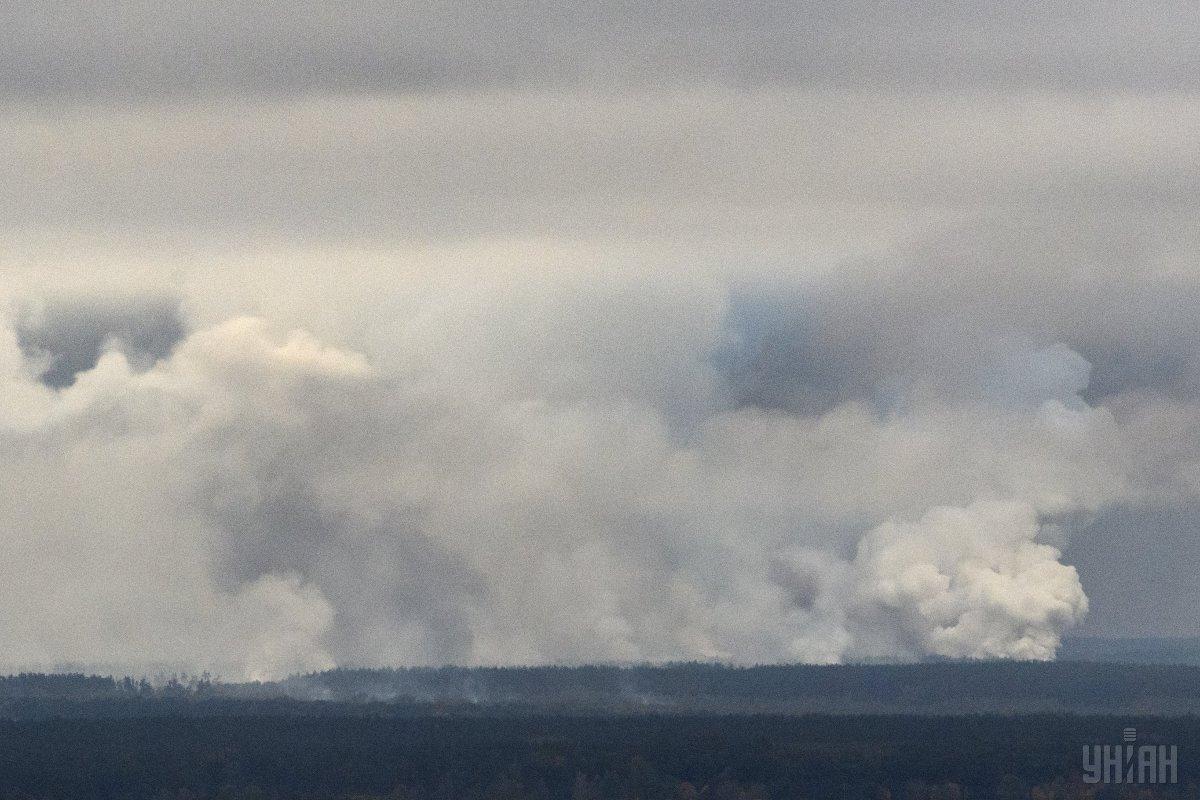 Аварія на Чернігівщині / фото УНІАН