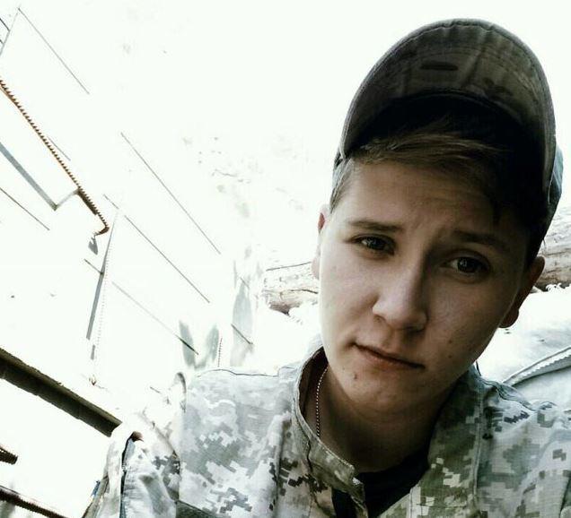 Олеся Бакланова загинула 10 жовтня в районі шахти Бутівка від кульового поранення / фото facebook.com