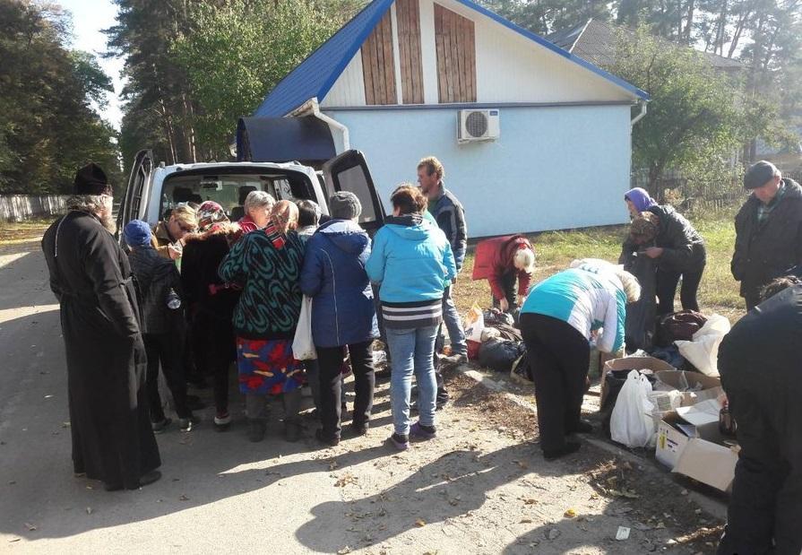 Допомога постраждалим в Ічні / orthodox.cn.ua