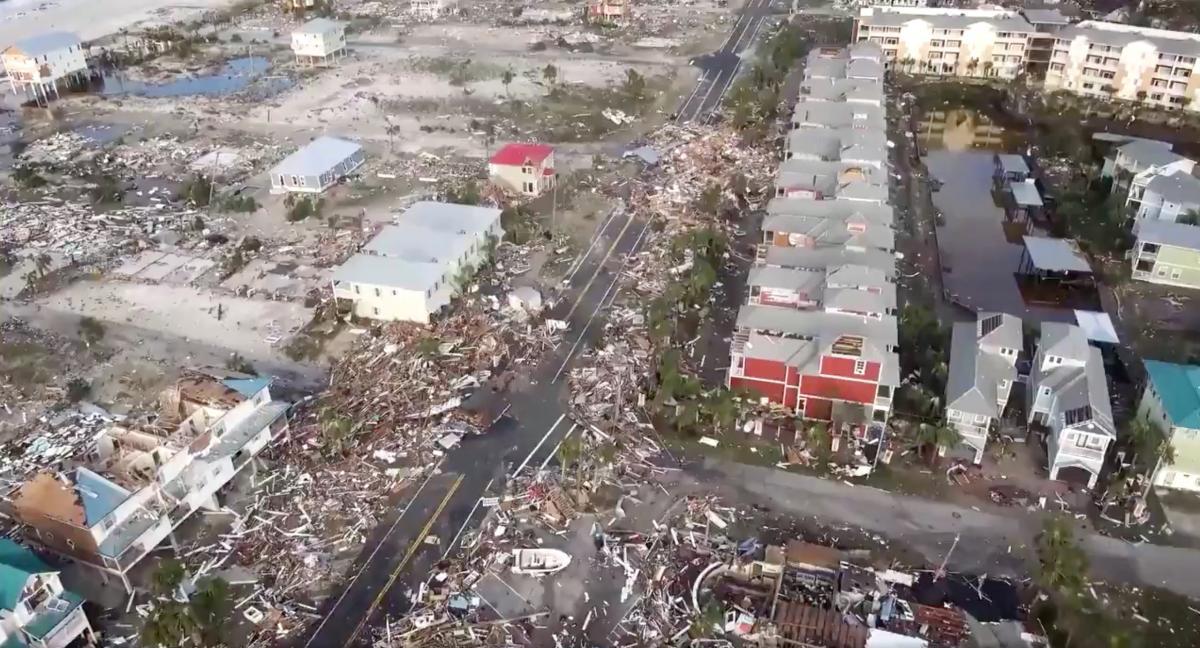 Ураган Майкл, штат Флорида / ілюстрація / REUTERS