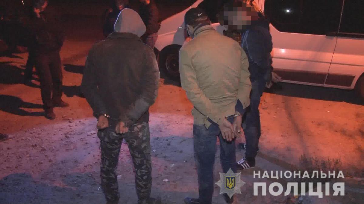Зловмисників затримано / фото od.npu.gov.ua
