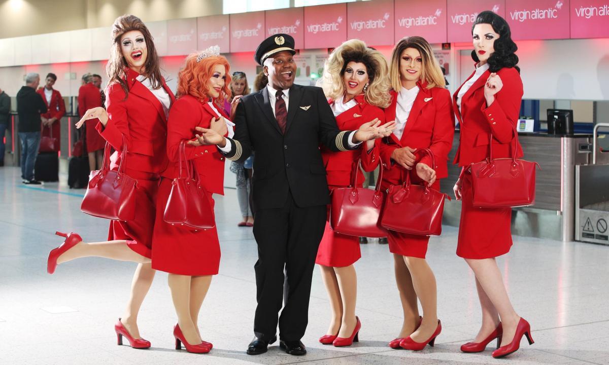 Первый в истории рейс с ЛГБТ-экипажем состоится в июне 2019 года / Фото JoePepler/PinPep