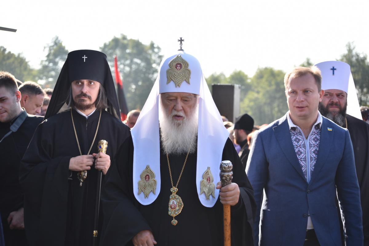 На Тернопільщину прибув Святійший Патріарх Київський і всієї Русі-України Філарет / фото прес-служби ТОДА