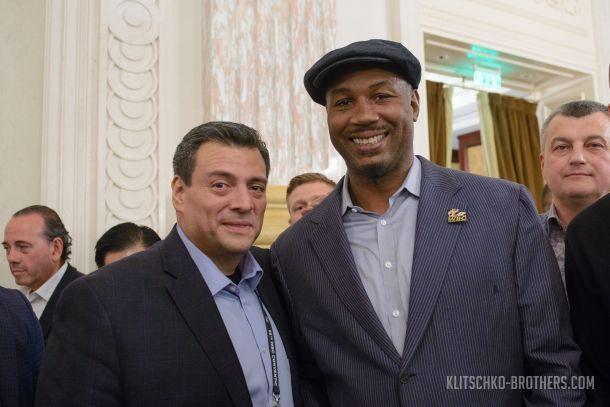В гости к мэру Киева Виталию Кличко приехало целое созвездие элитных спортсменов мирового бокса / klitschko-brothers.com