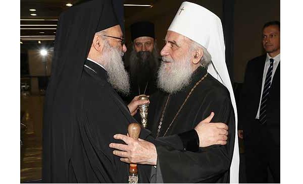 Патриарх Антиохийский Иоанн Х прибыл с визитом в Белград / spc.rs