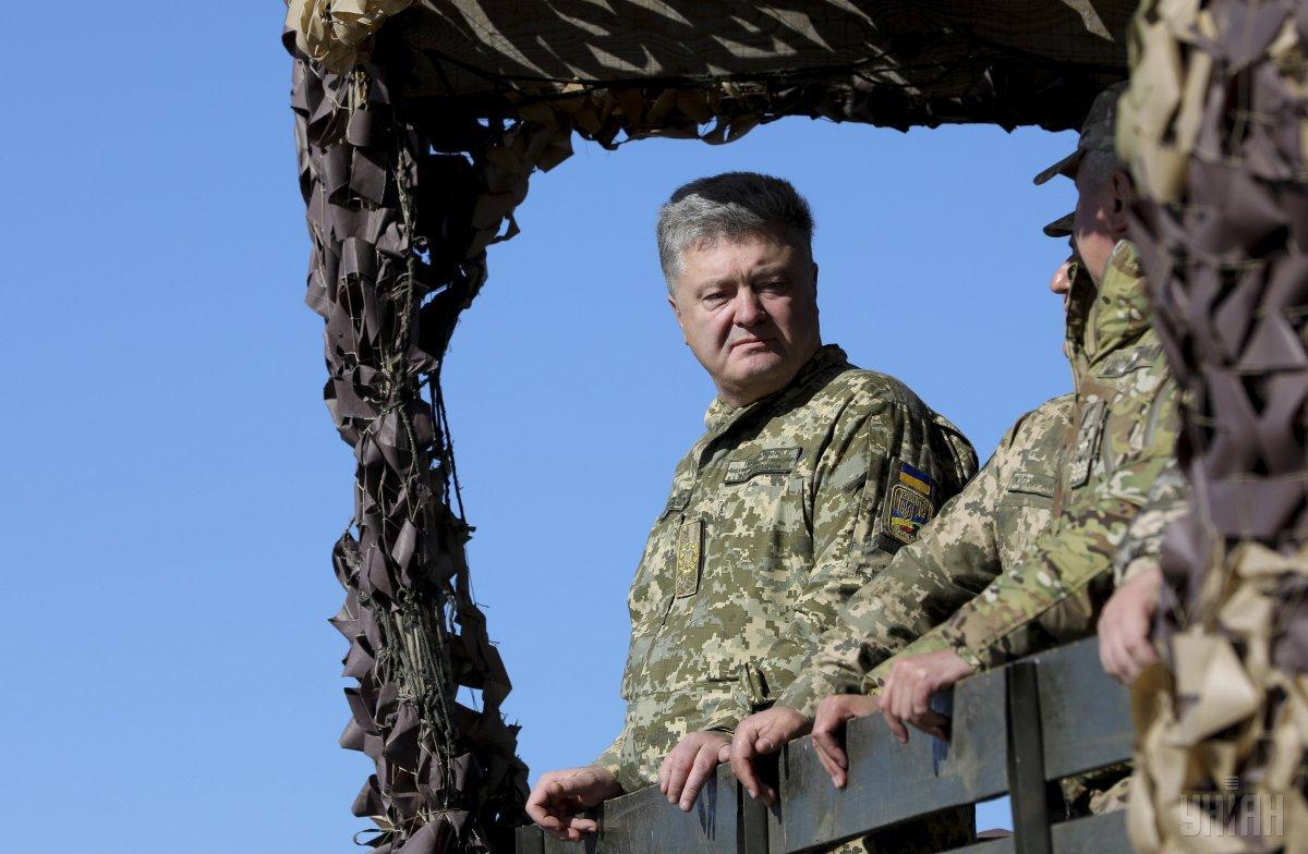 Закон о введении военного положения в Украине подписан президентом / фото УНИАН