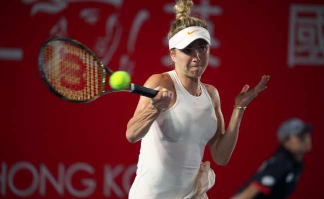 Свитолина находится на грани поражения в четвертьфинале турнира в Гонконге / btu.org.ua