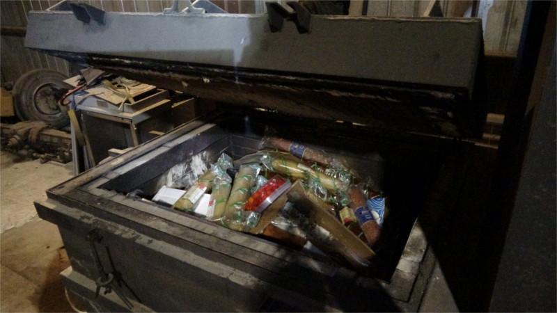 Еду уничтожили 12 октября / фото rsn-msk.ru